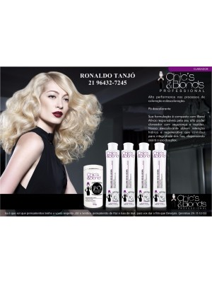 OX DE 20 VOLUMES CHICS BLONDS